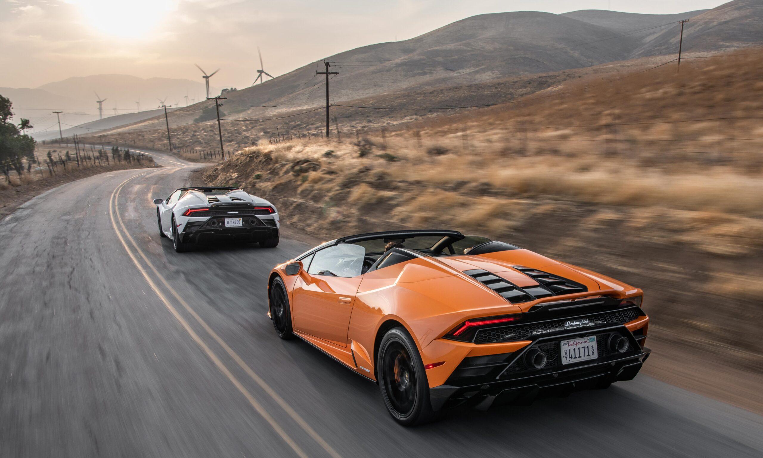 "Lamborghini Huracán EVO RWD Spyder ""Best Convertible for 2021"""