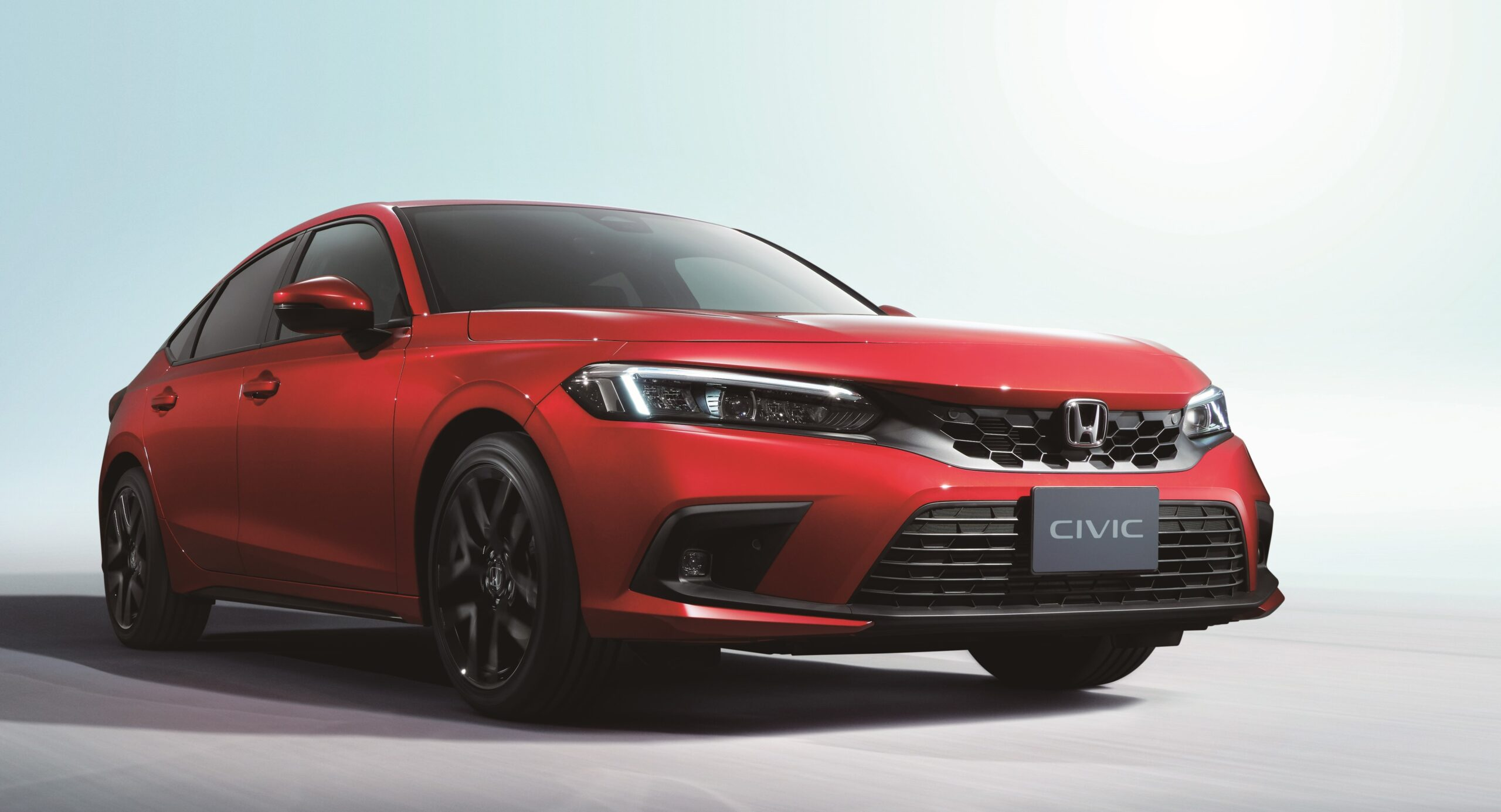 Prime immagini della nuova Honda Civic.