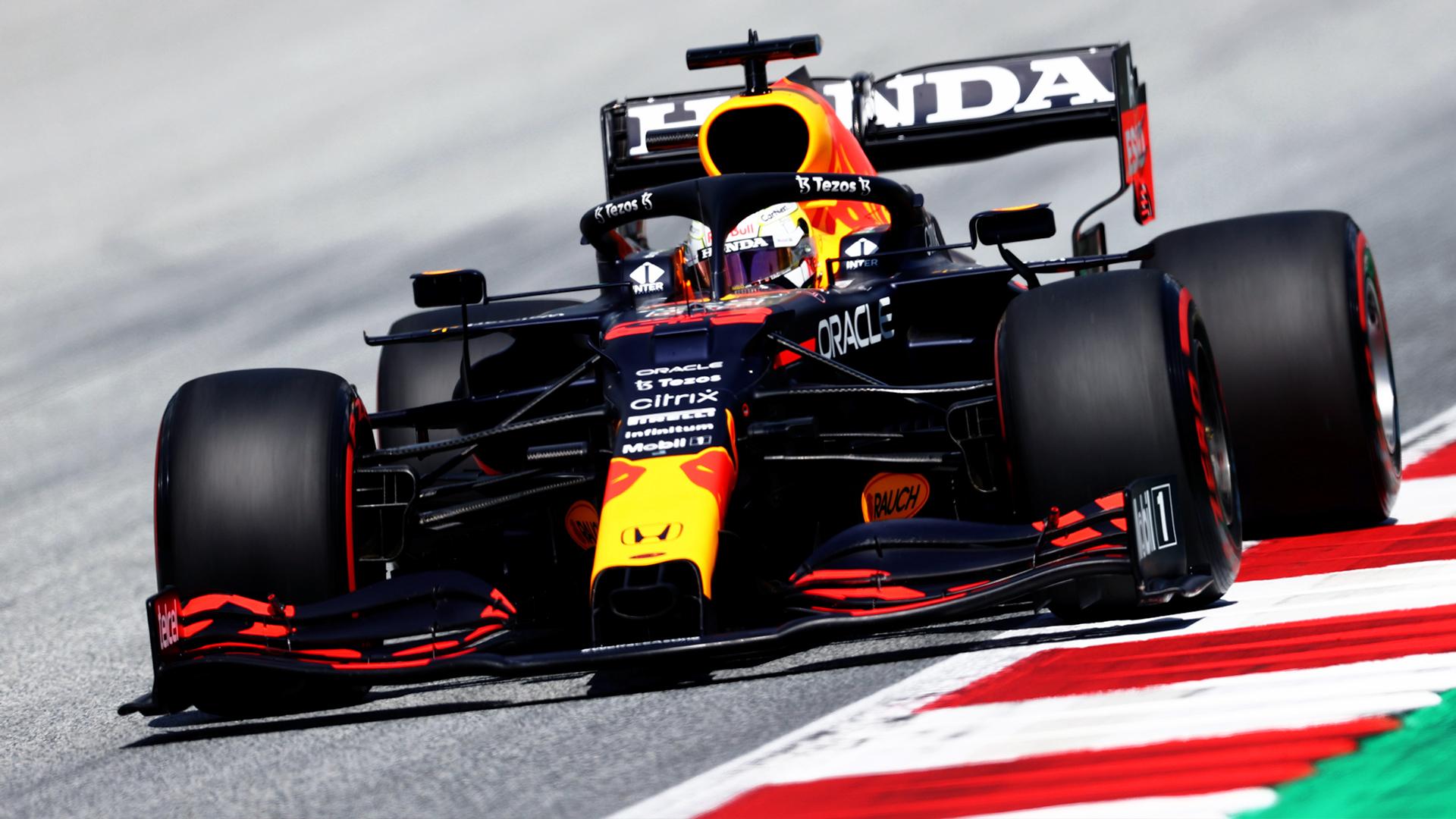 Qualifica del Gp di Stiria: Verstappen in pole, Ferrari 7° e 12°.