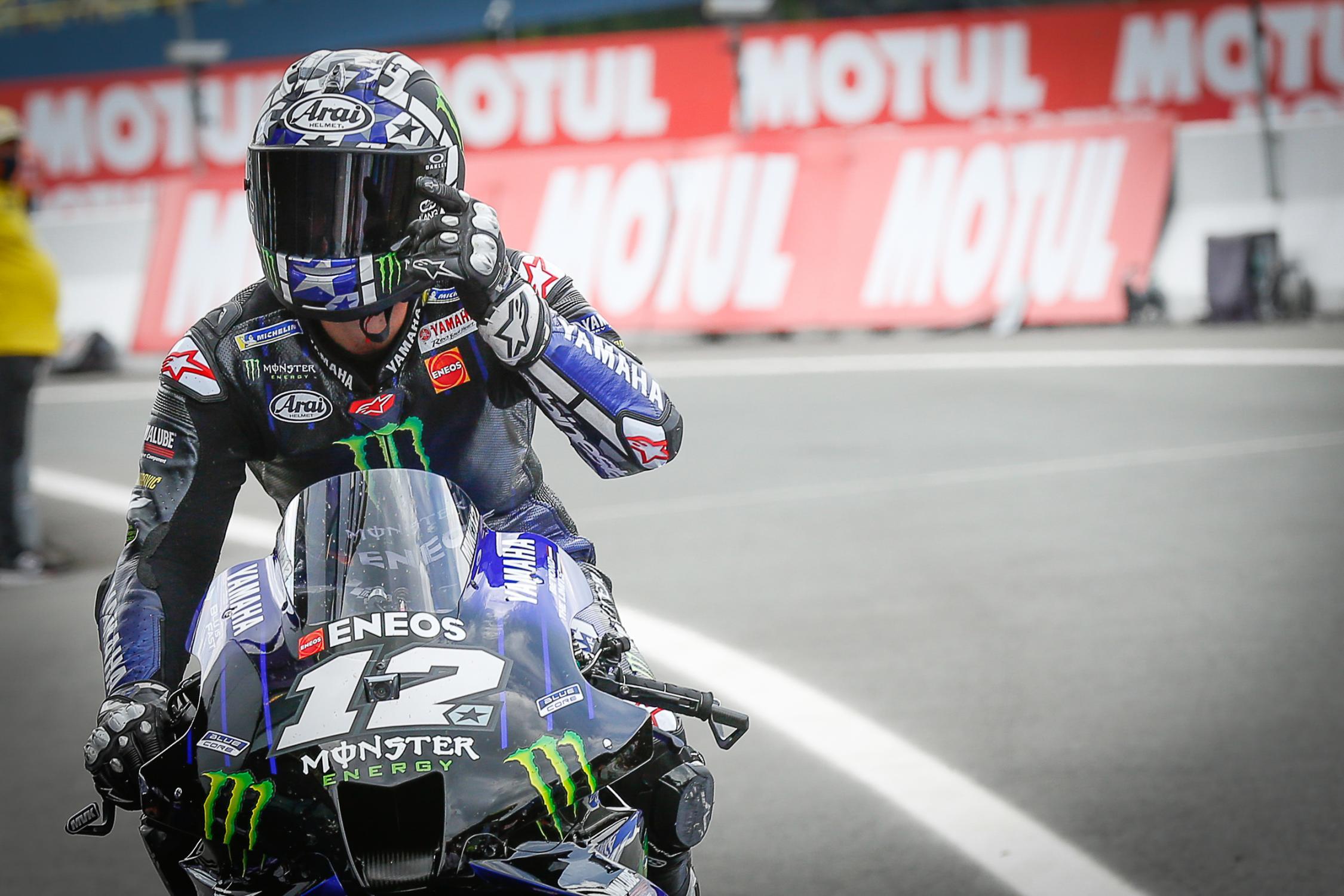 MotoGP: Yamaha dice addio a Viñales