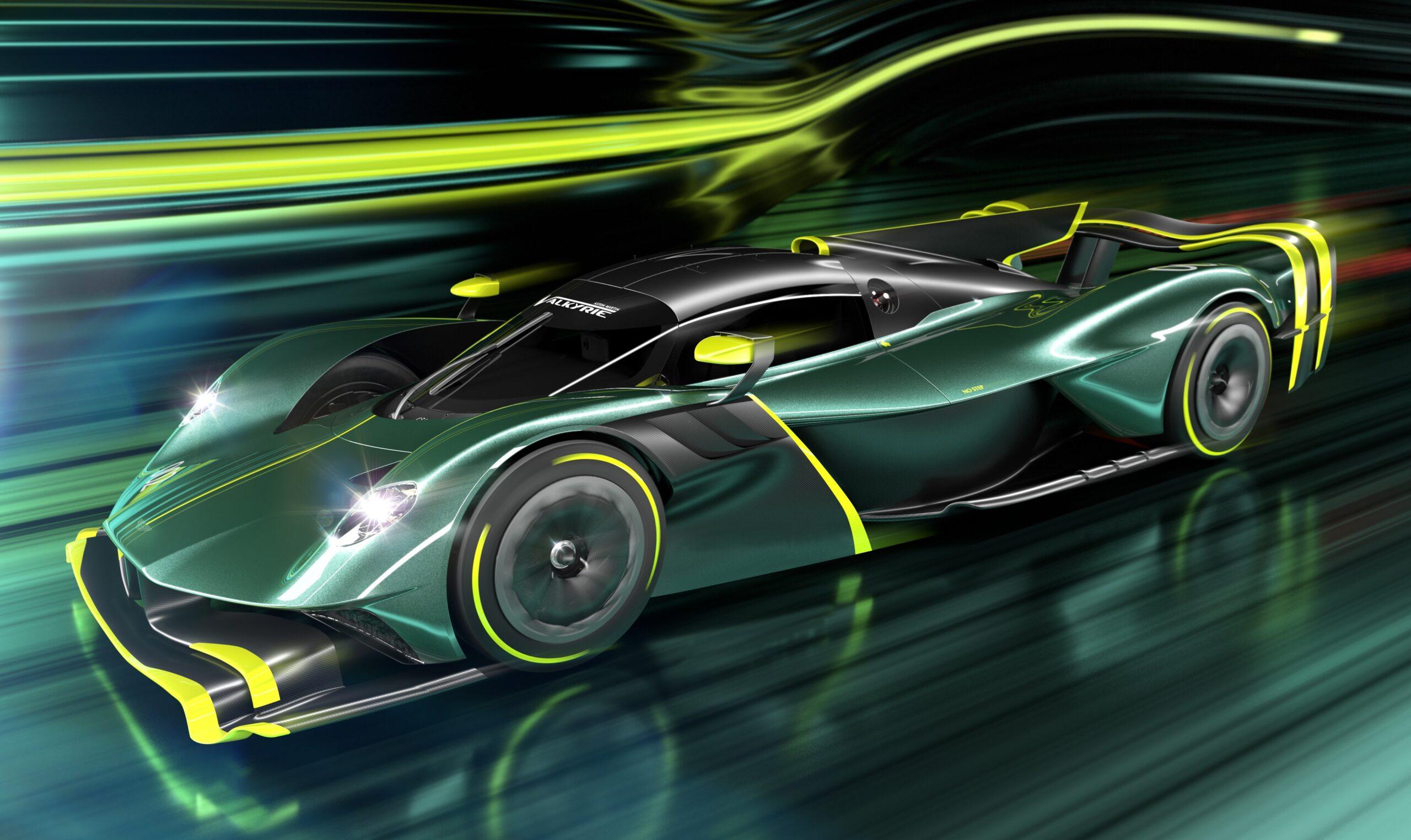 Aston Martin Valkyrie AMR Pro: V12 da 1000 CV.