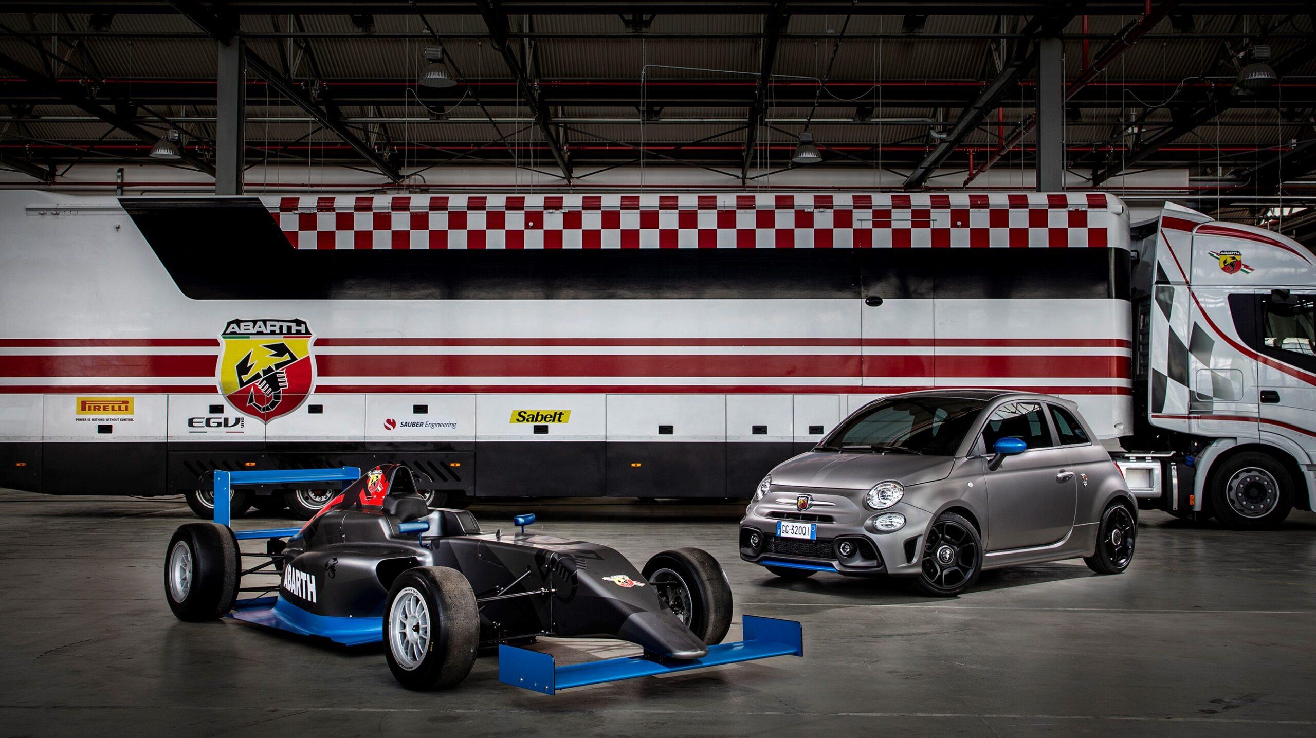 Nuova Abarth F595: adesso con motore della Formula 4.