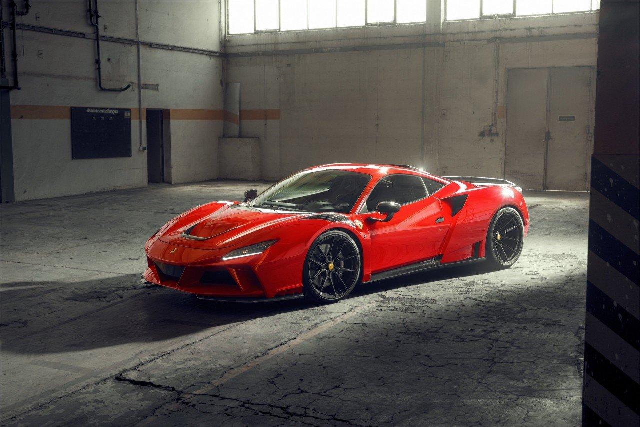 Ferrari F8 Novitec: 818 CV e olte 340 Km/h di velocità massima.