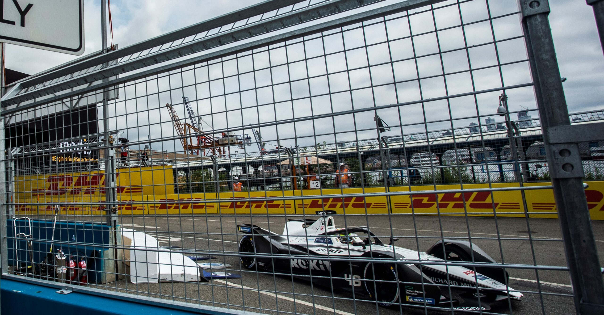 Qualifica New York City E-Prix: Nick Cassidy (Envision Virgin Racing) in Pole Position.