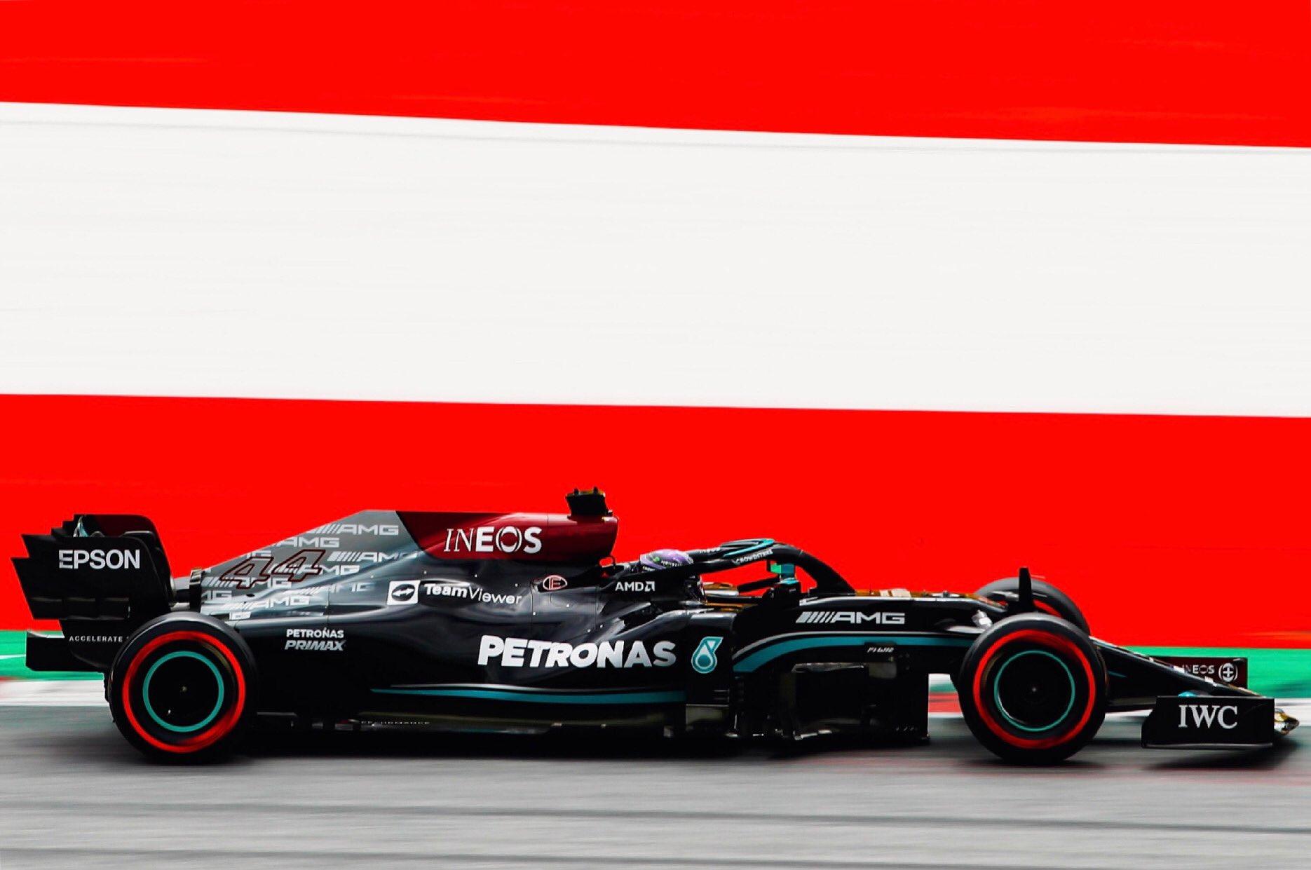 FP2 Gp d'Austria: Hamilton ritorna in alto, Ferrari 13° e 16°