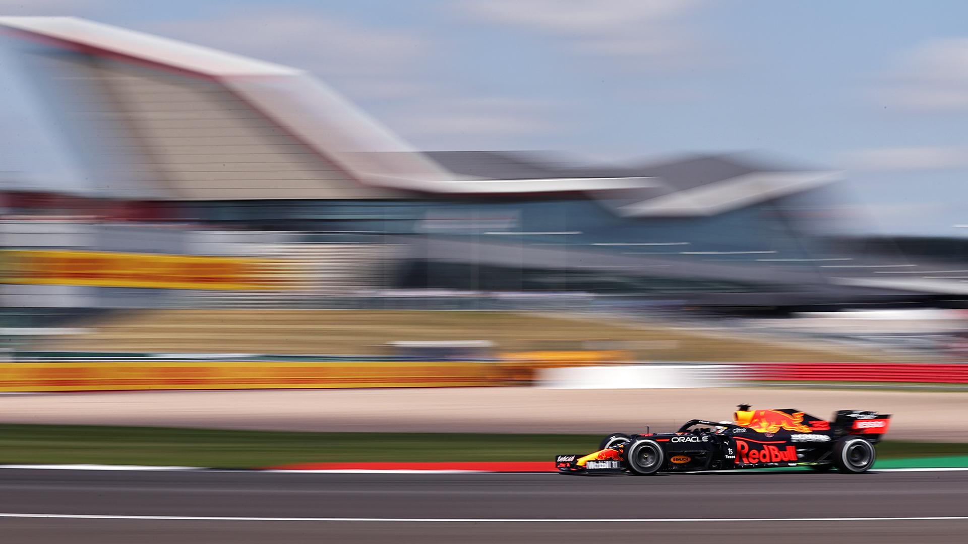 FP1 Gp Silverstone: Verstappen stratosferico, Ferrari 4° e 6°.