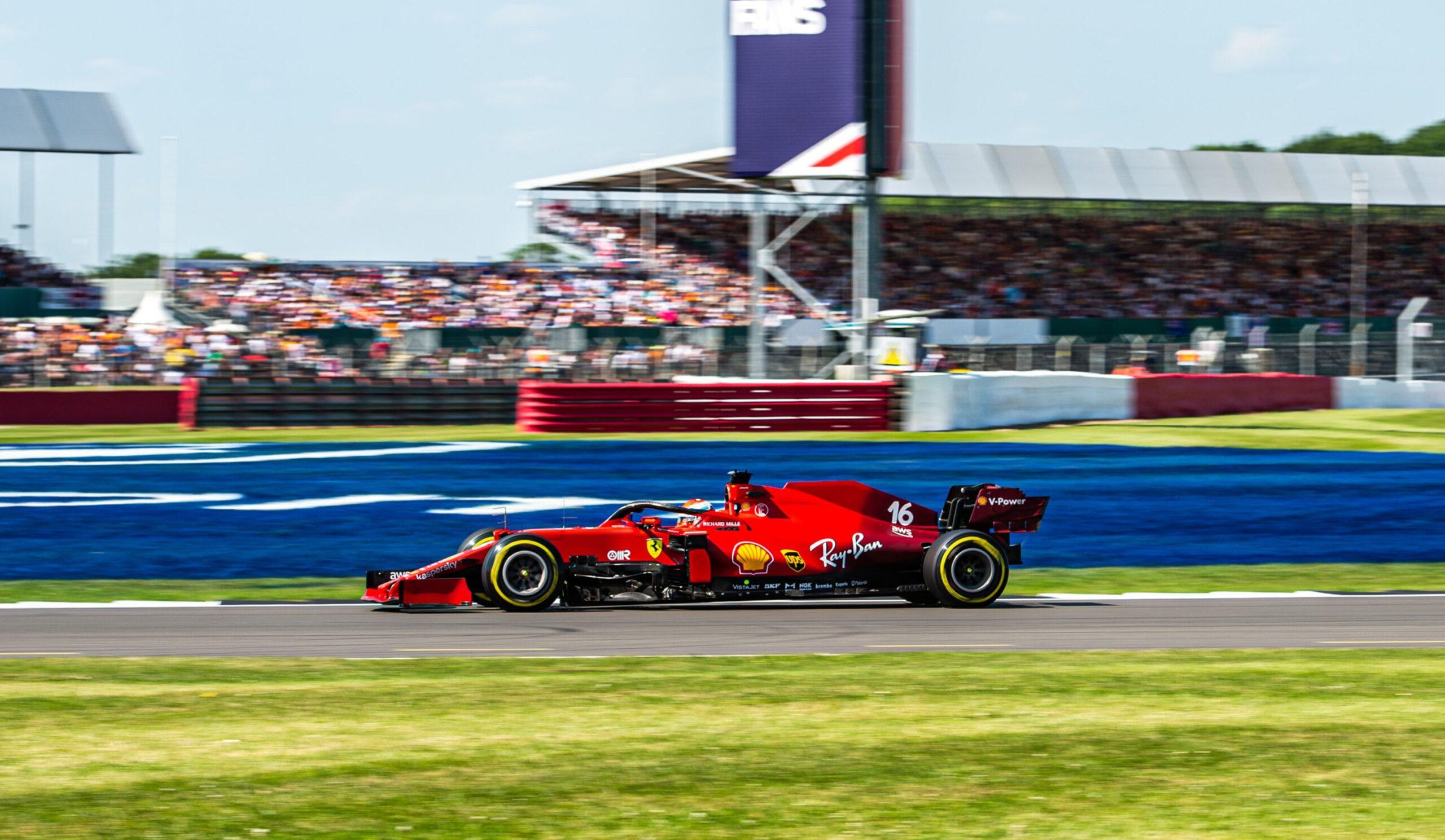 Gp Silverstone: Leclerc deluso per la mancata vittoria.