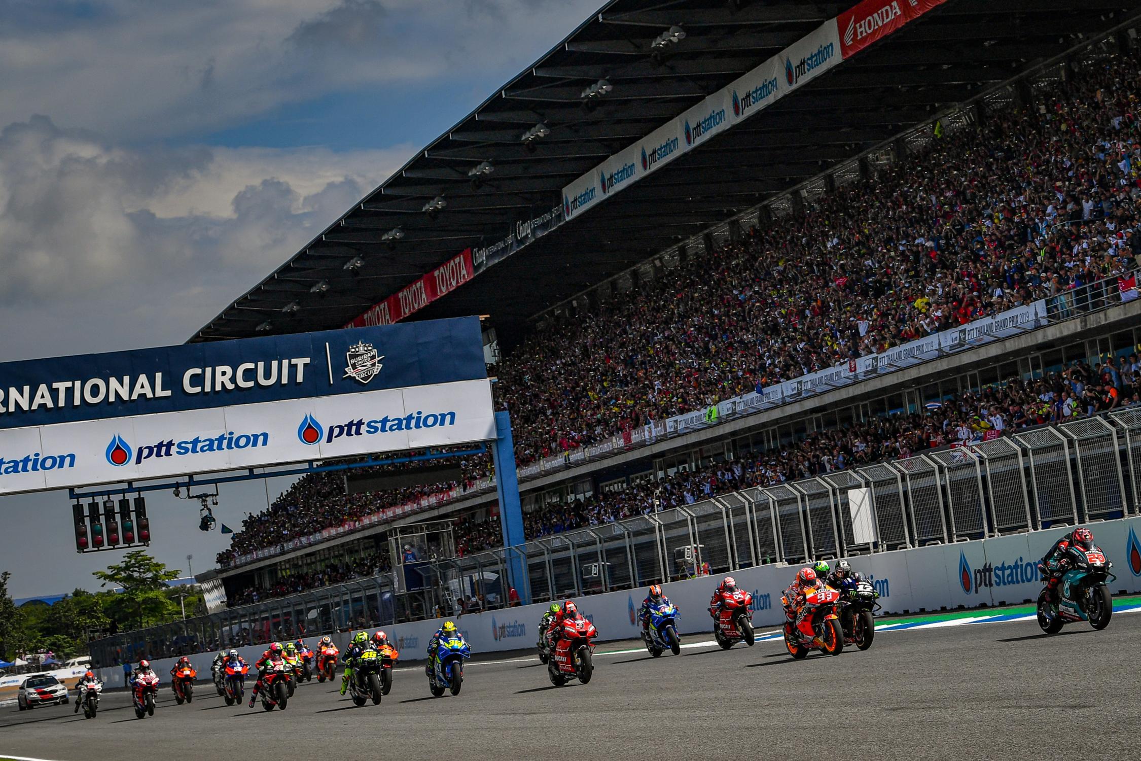 MotoGP: Cancellato il GP di Thailandia.