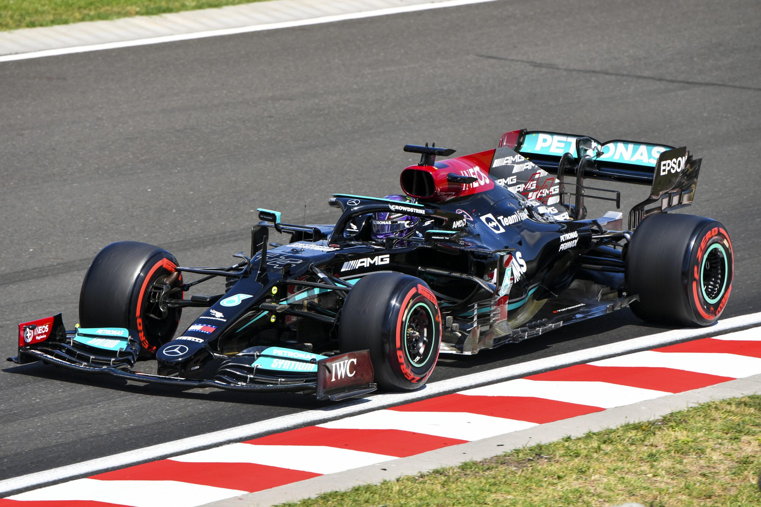 Prove libere 3 del Gp d'Ungheria: Hamilton il più veloce, la Ferrari può sognare.