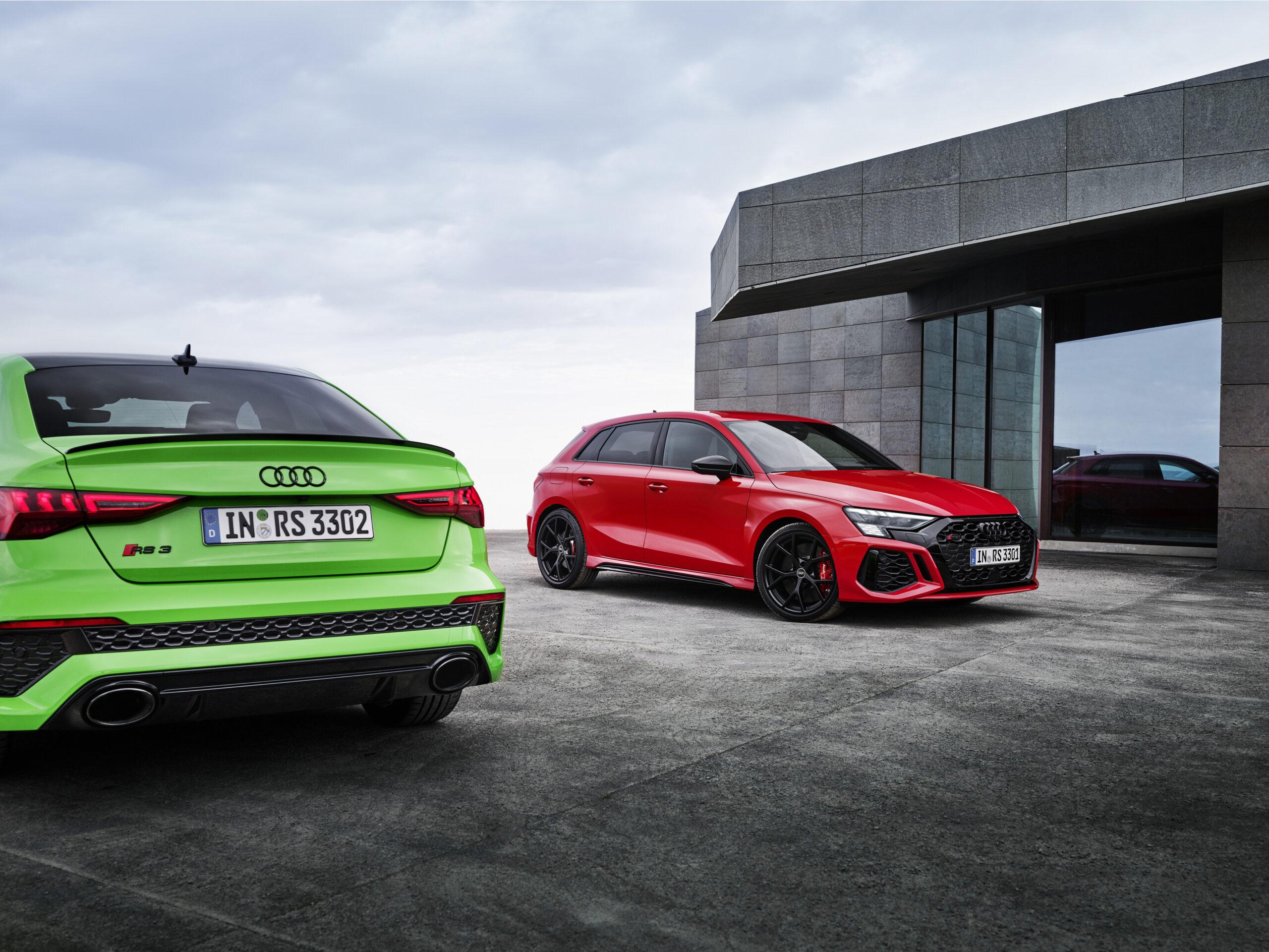 Nuova Audi RS 3: ecco i prezzi.