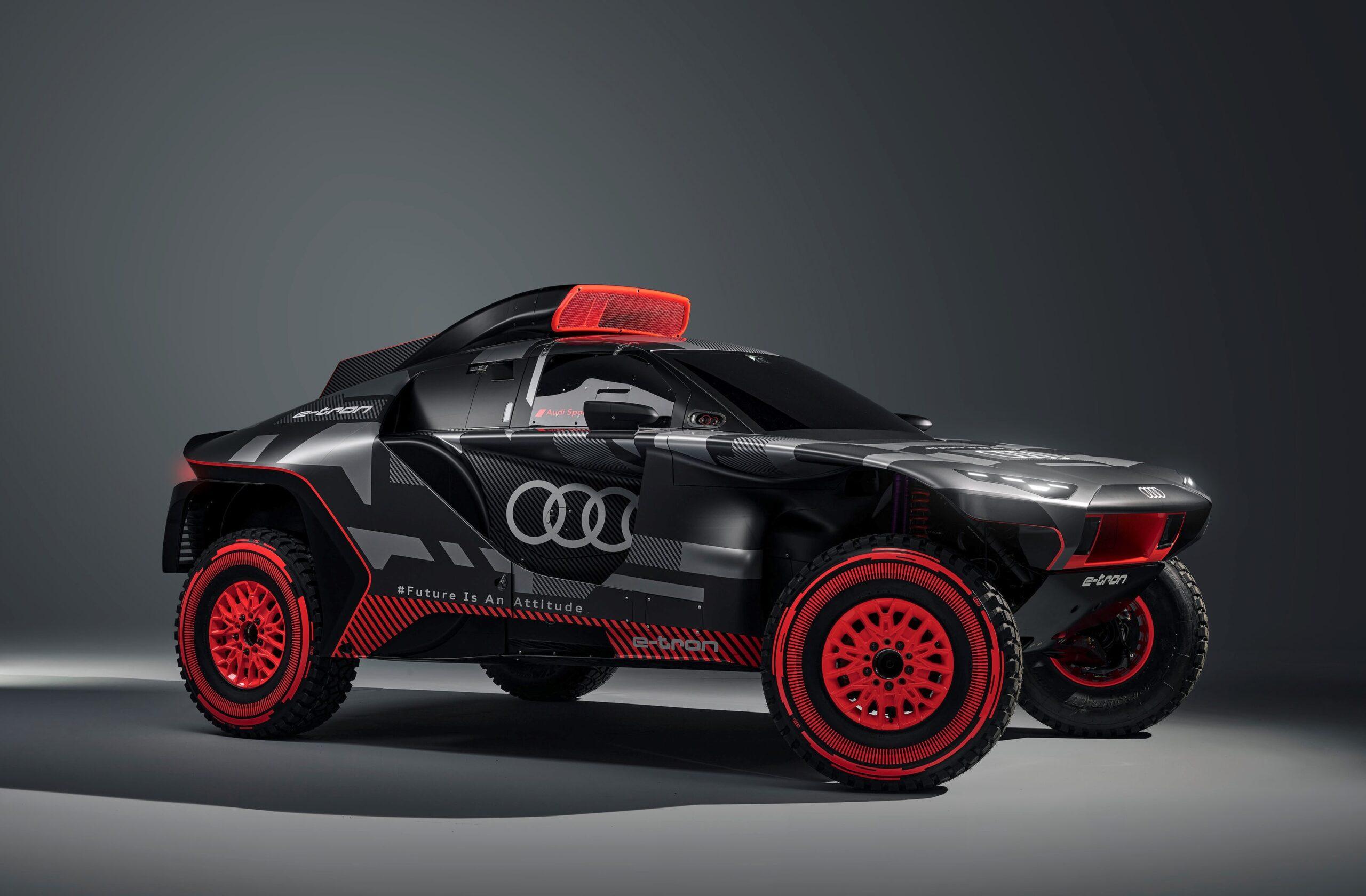 Audi RS Q e-tron: arma per vincere il Rally Dakar.