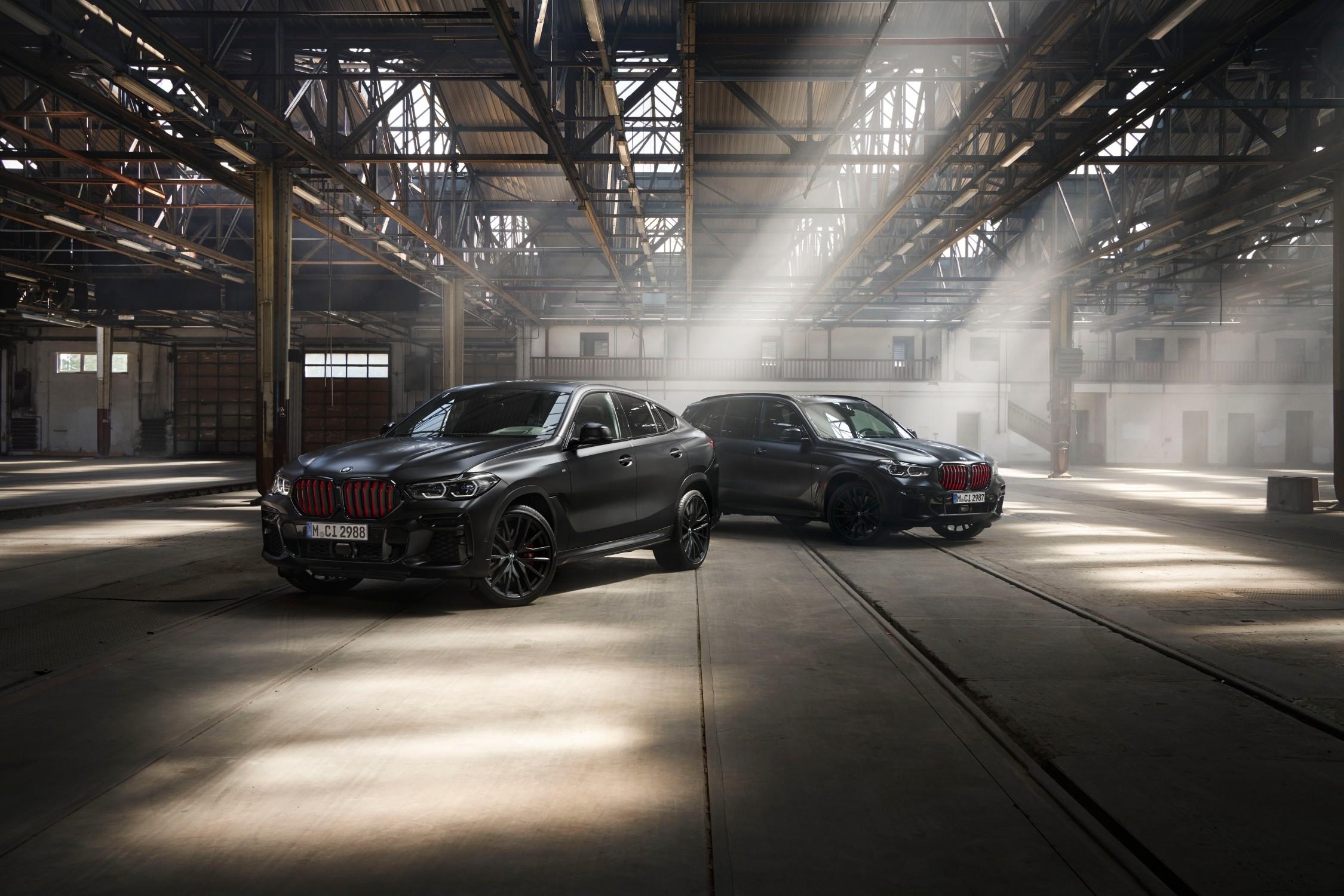 BMW X5, X6 e X7 in edizioni limitate.