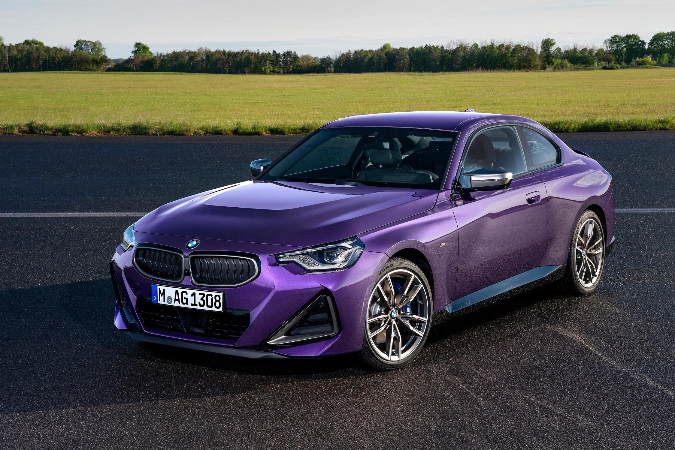 Nuova BMW Serie 2 Coupé: Design, interni e motori.