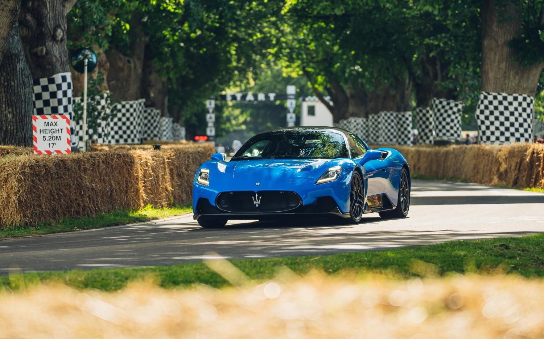 Maserati MC20 debutta per la prima volta al Goodwood Festival of Speed