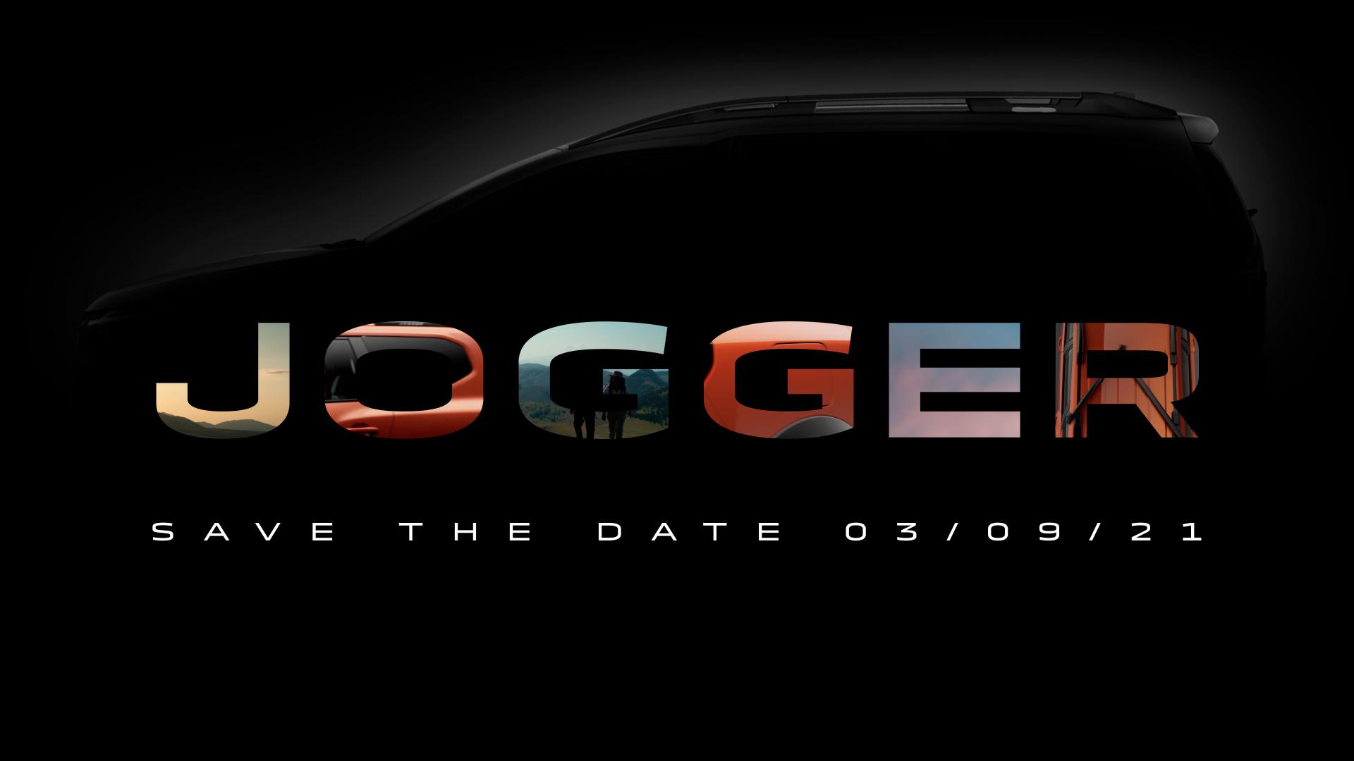 Dacia Jogger: Famigliare a 7 posti in arrivo.