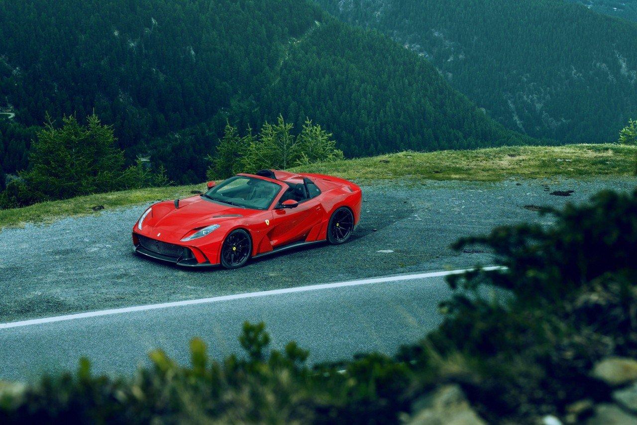 Ferrari 812 GTS Novitec: adesso 840 CV e 345 Km/h di velocità massima.