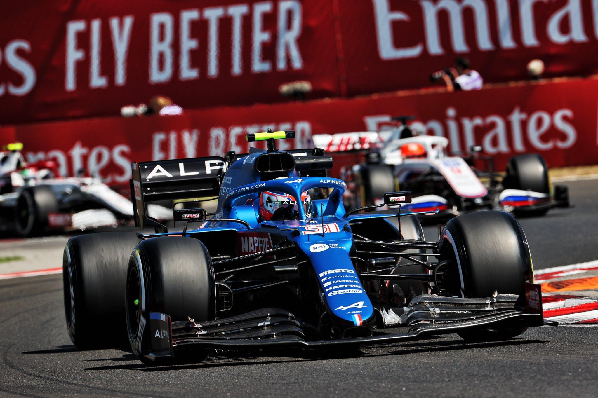 Gara Gp Ungheria: Ocon vince una gara pazza, Vettel e Hamilton a podio.