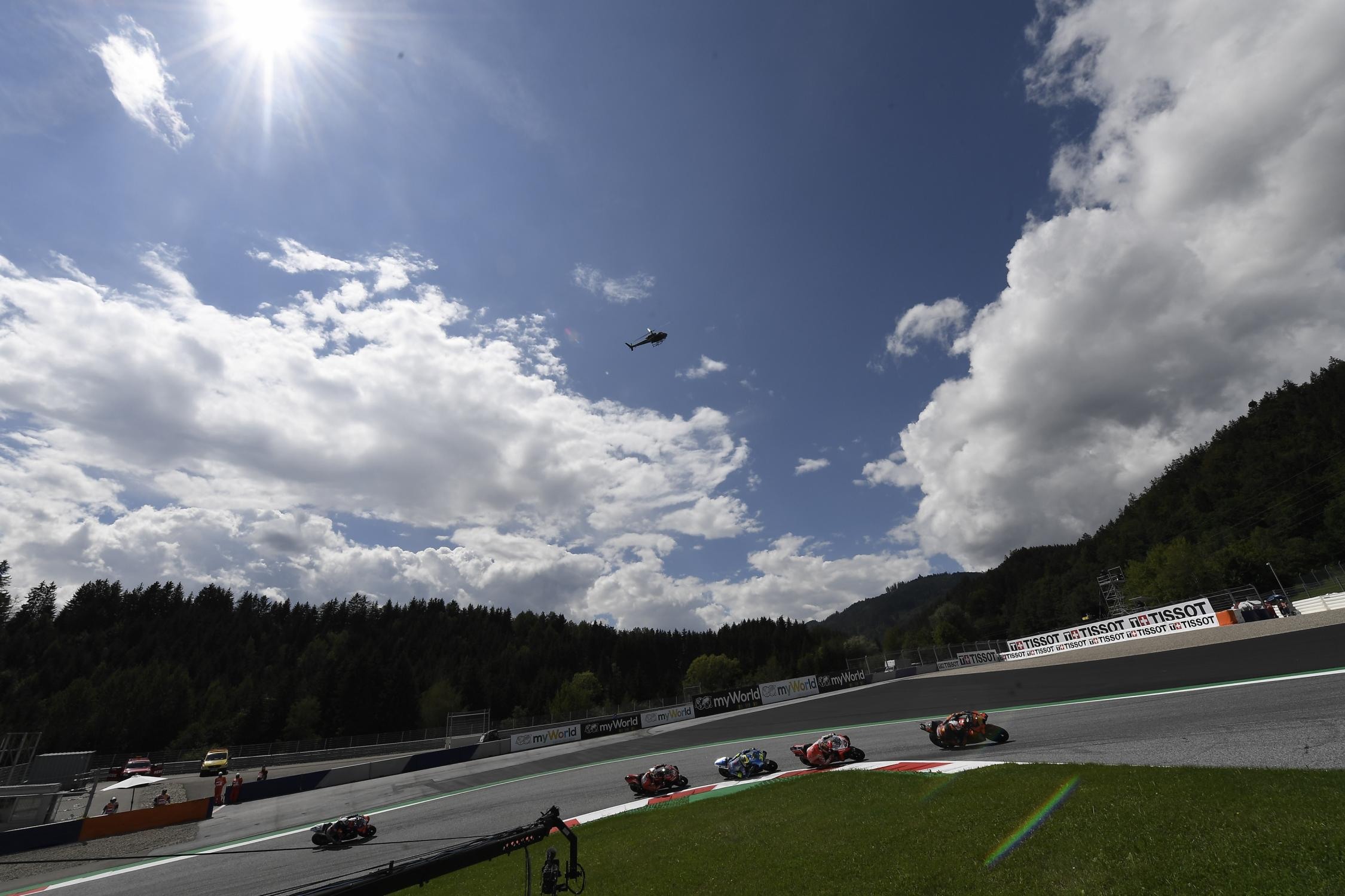 Meteo Red Bull Ring: Previsioni meteo per la gara di MotoGP in Stiria.