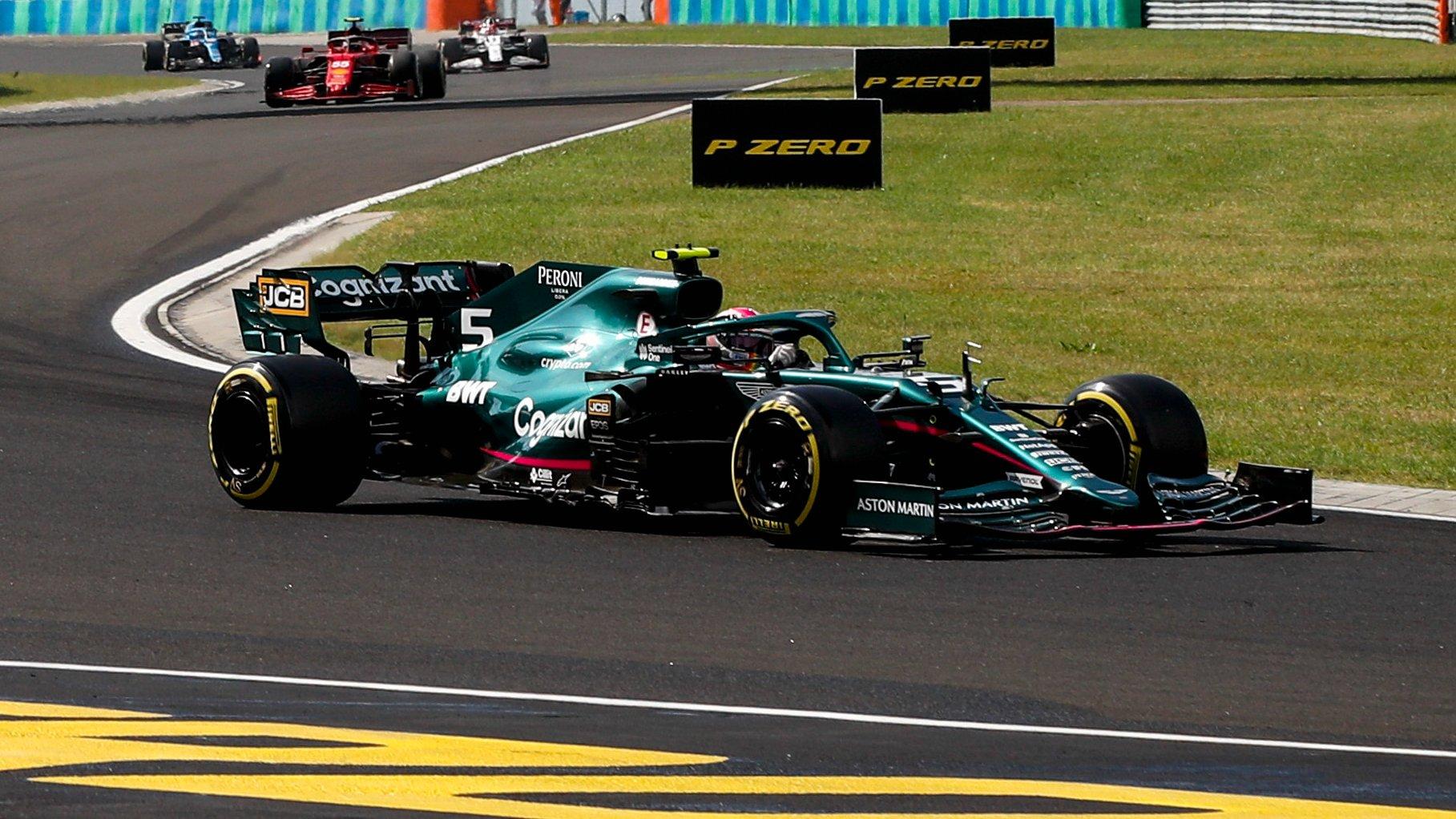 Gli Stewards hanno respinto la richiesta di revisione dell'Aston Martin contro la squalifica di Vettel in Ungheria.