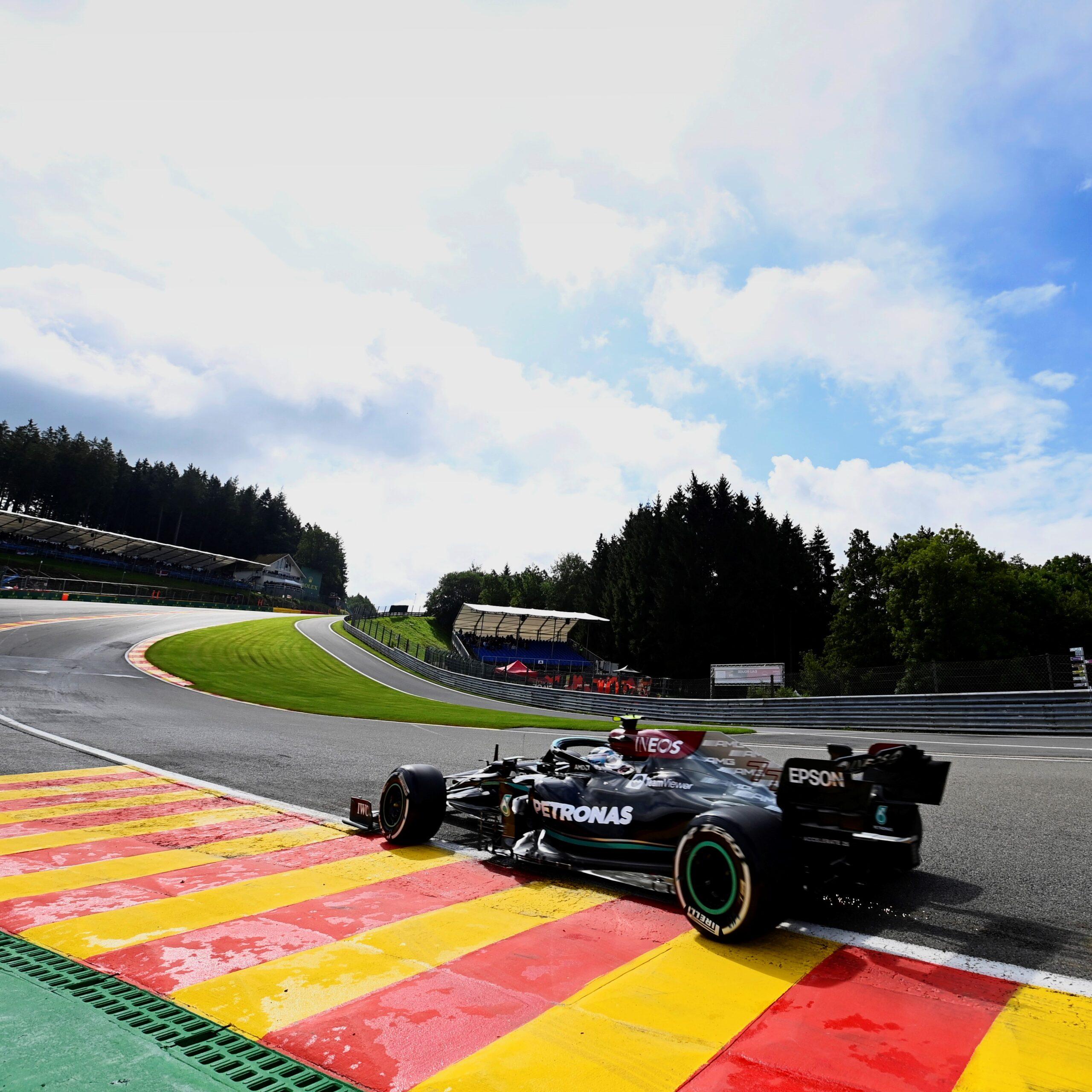 FP1, Gp Belgio: Bottas il più veloce, Ferrari 4° e 5°.