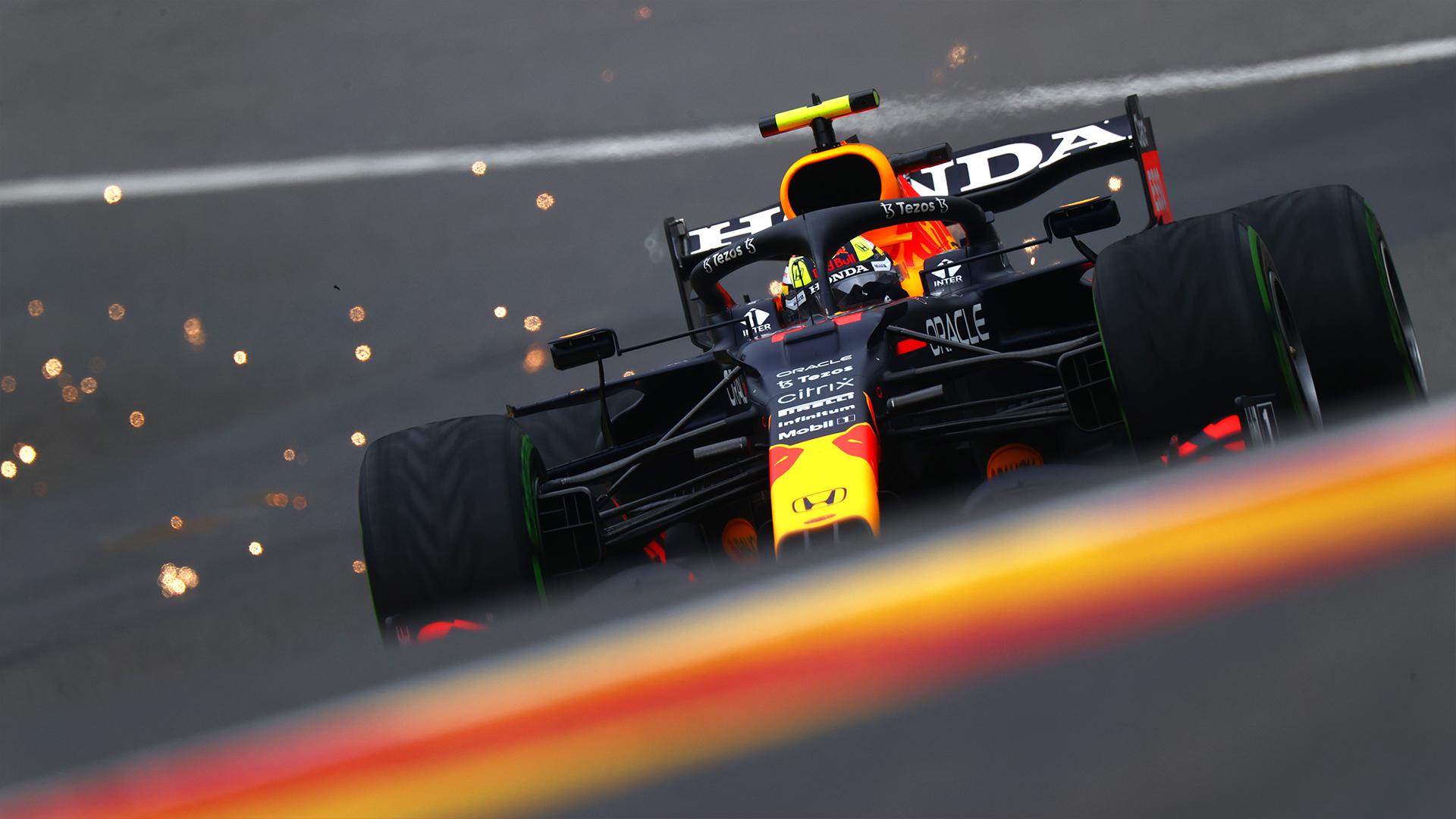 FP3, Gp Belgio: Red Bull prima e seconda sul bagnato, Ferrari in difficoltà.