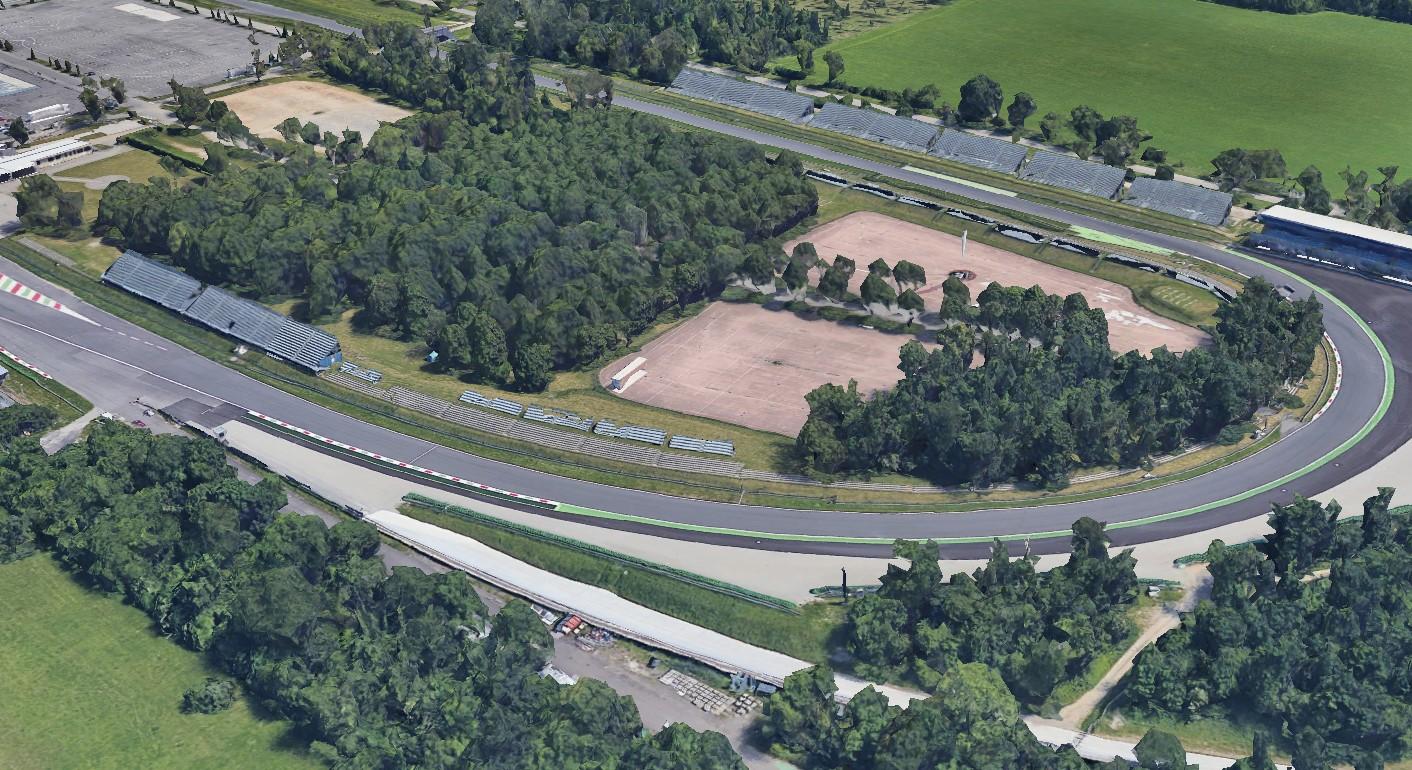 Parabolica di Monza intitolata a Michele Alboreto