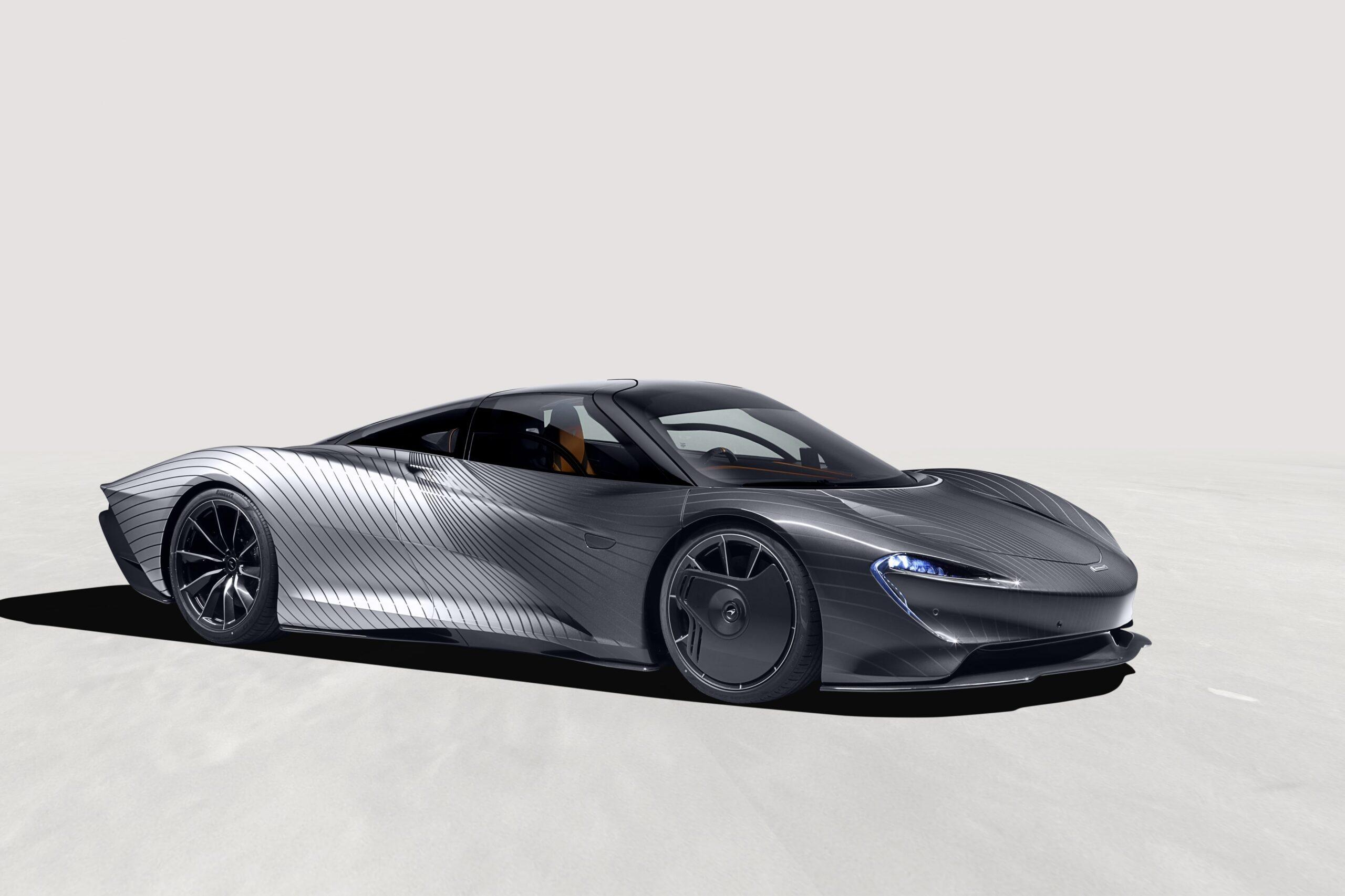 McLaren Albert Speedtail: una HyperCar da colori straordinari.