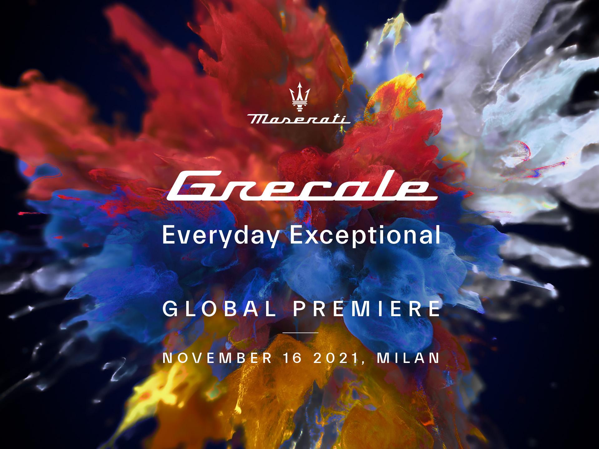Maserati Grecale: annunciata la data di presentazione.