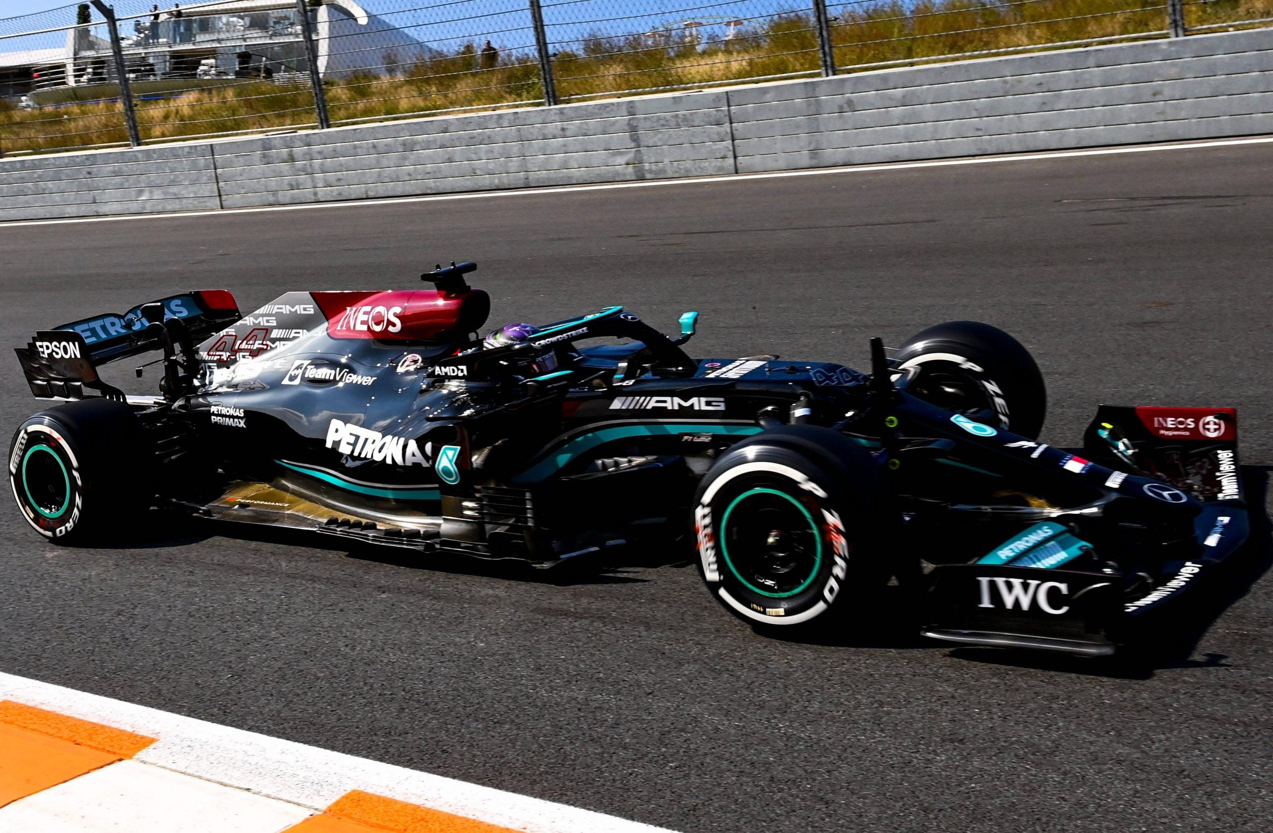 FP1, Gp Olanda: Hamilton primo, davanti a Verstappen. Ferrari 3° e 4°.