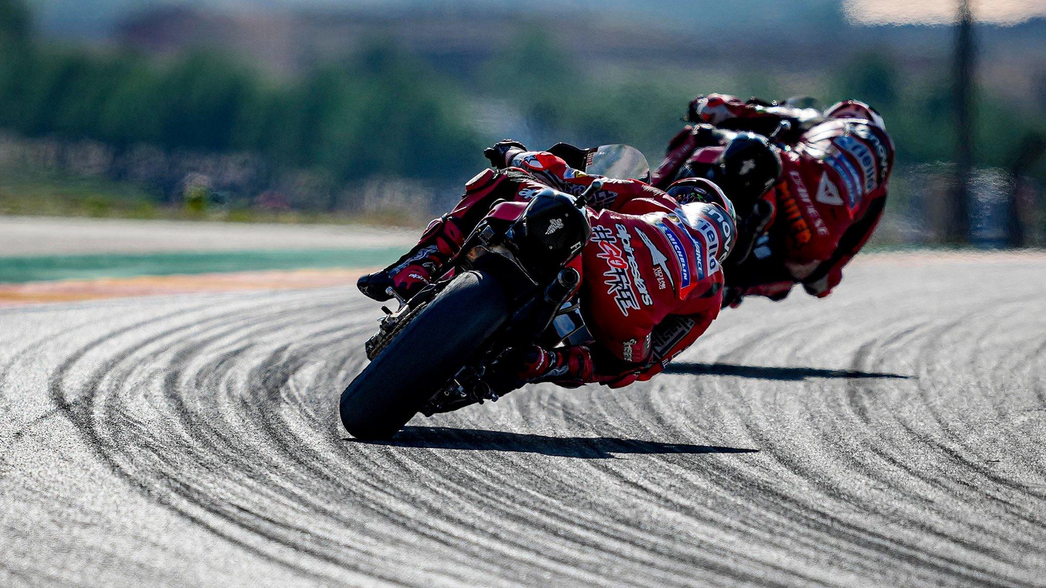 Qualifiche di Aragon: Bagnaia in Pole Position, doppietta Ducati.
