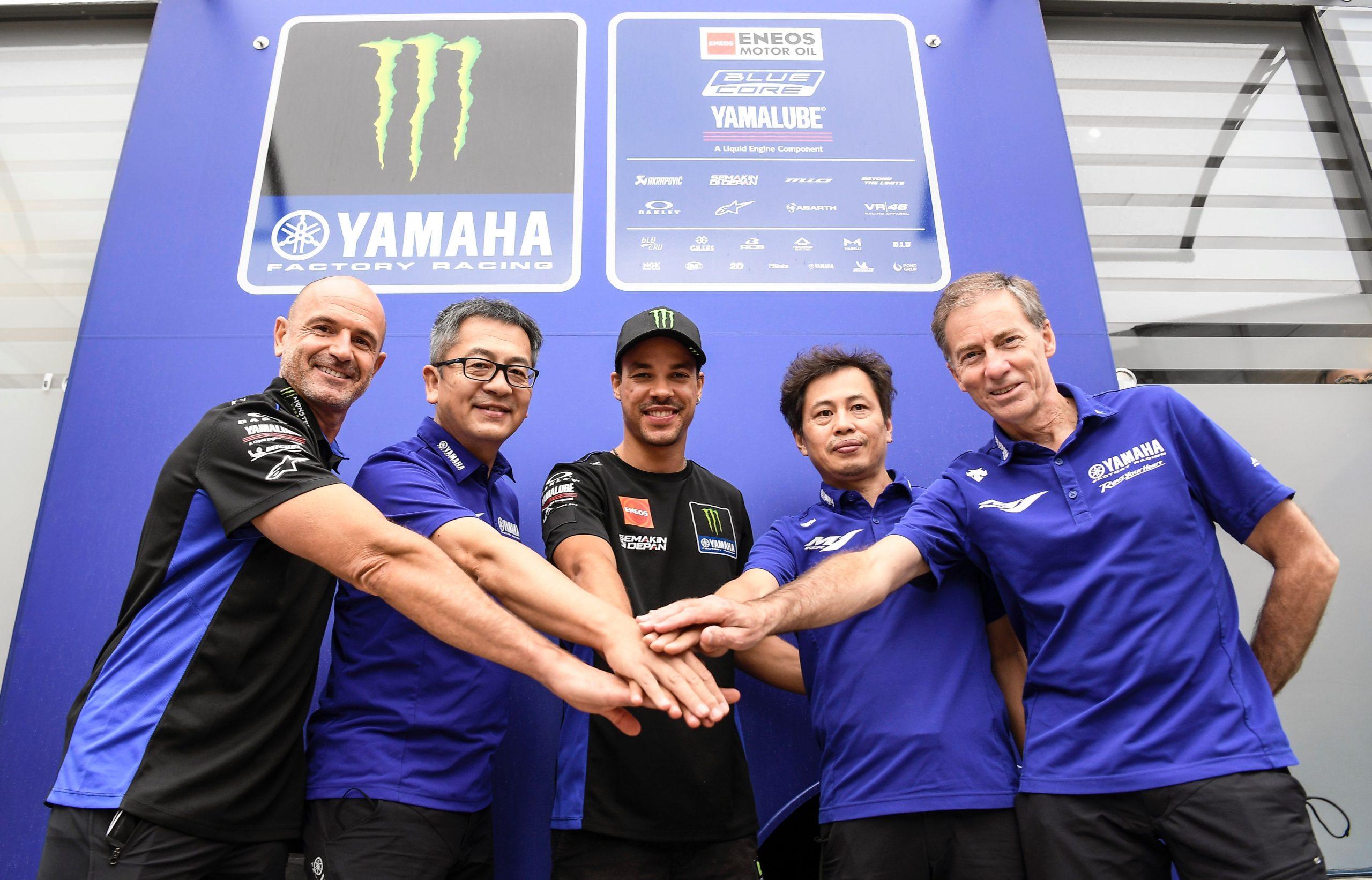 Franco Morbidelli sarà col team ufficiale Yamaha.