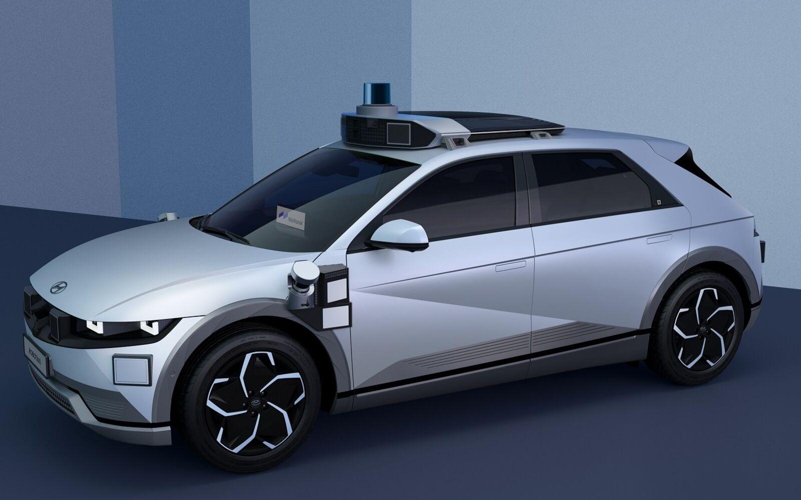 Motional e Hyundai presentano il Robotaxi IONIQ 5.