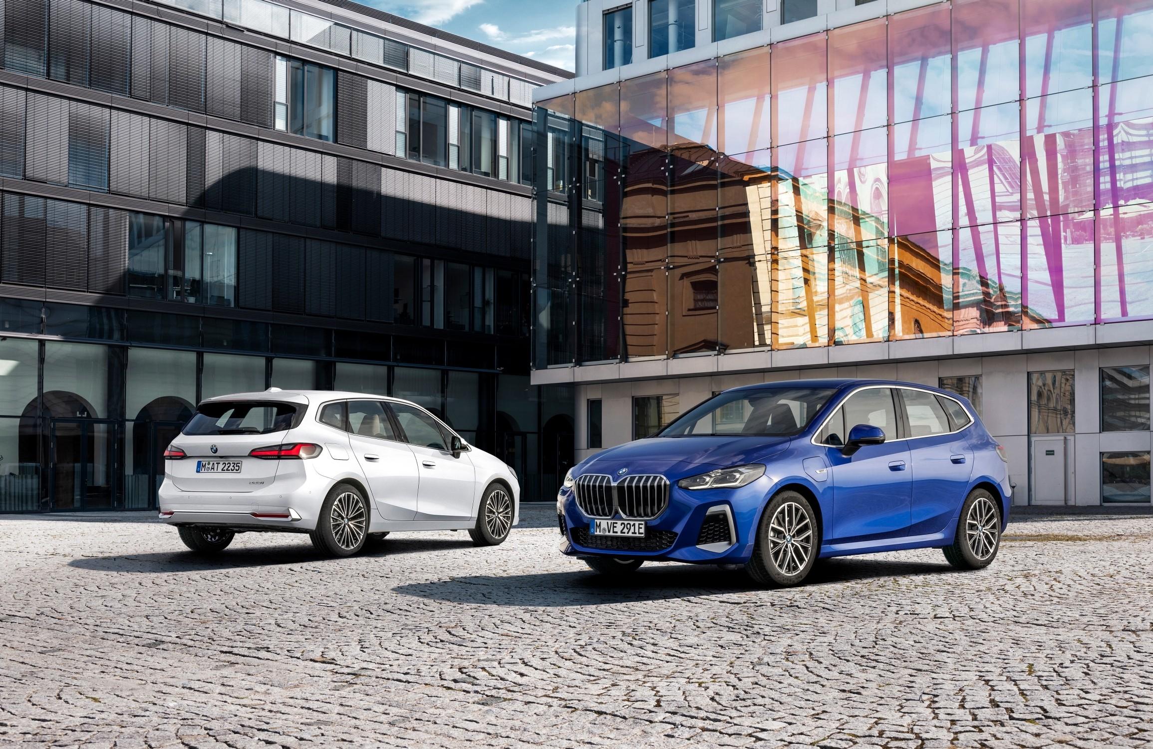 Nuova BMW Serie 2 Active Tourer: design, interni e motori.