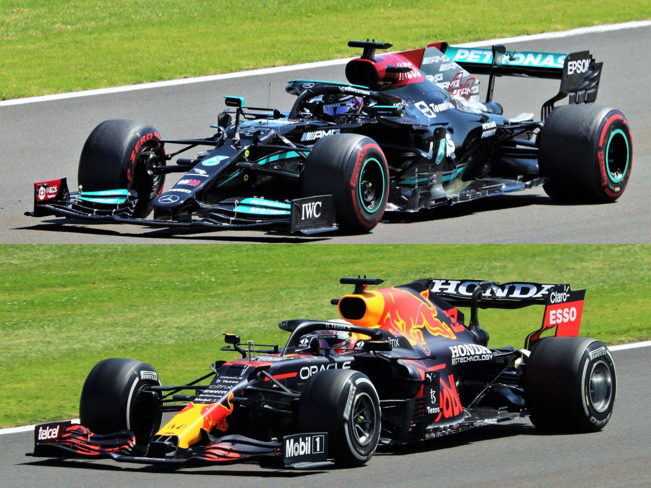 Confronto: Lewis Hamilton vs Max Verstappen.
