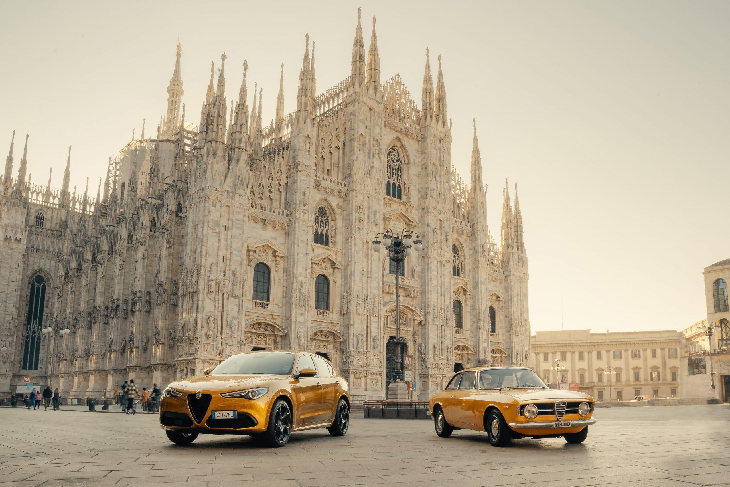 Alfa Romeo presenta la Stelvio GT Junior.